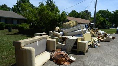 Because of continued demand, the Escambia County free storm debris drop off site at John R. Jones Athletic Park, 555 E. Nine Mile Road, will remain open 7 a.m. to 5 p.m. daily through Friday.