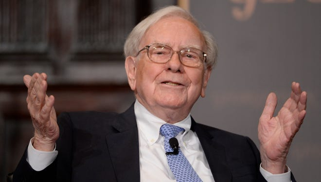 Investor, and philanthropist Warren Buffett