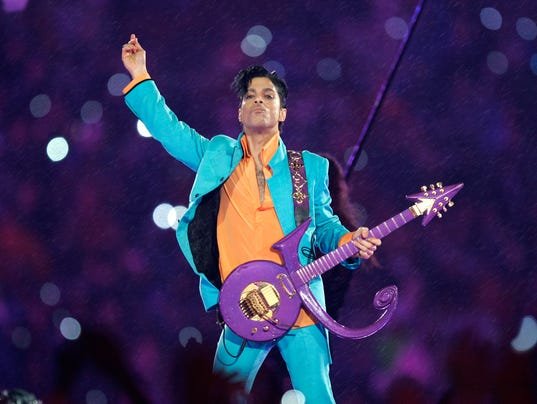 Prince performing 2007