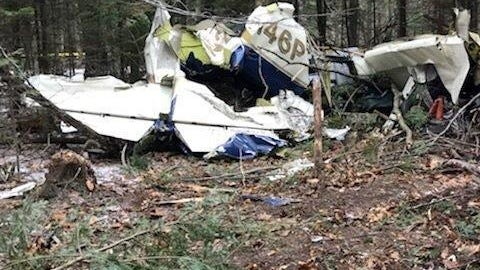 A 72-year-old pilot died in the crash of a small plane Dec. 30, 2018 on Beaver Island in Lake Michigan. Charlevoix County authorities say an explosion was heard near the island's airport around 7:45 p.m. Sunday.