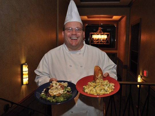 Greg Mummert, executive chef at the Country Club of