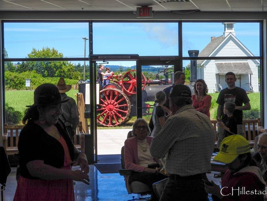 Bring dad to Yamhill Valley Heritage Center for Father's Day.