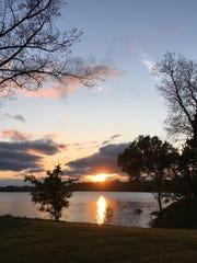 Lake Caroline at Red River National Wildlife Refuge.