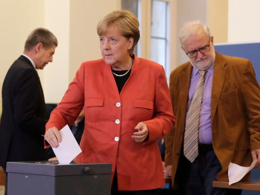 AP GERMANY ELECTION I ELN DEU