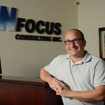 Benjy Uhl is the executive vice president for NFocus Consulting in Lancaster. Uhl is the outgoing president of the Lancaster Festival board of directors.