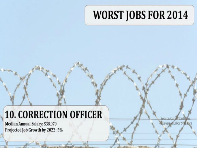 10. Correction Officer