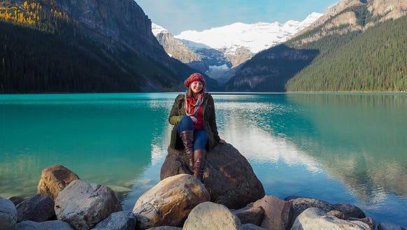 Blogger Amanda Williams in Canada.