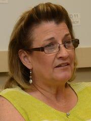 ANI Sheriff Inmate Care Rapides Parish Sheriff chief administrative officer Debbie McBeth. Wednesday, June 3, 2015.-Melinda Martinez/The Town Talk