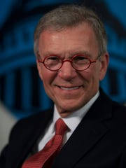 Former Senate majority leader Tom Daschle is shown