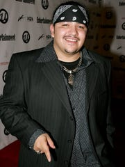 HOLLYWOOD - FEBRUARY 13:  Musician Ringo Garza Jr. of the latin rock band Los Lonely Boys arrives at Usher's Private Grammy Party hosted by Entertainment Weekly at Geisha House on February 13, 2005 in Hollywood, California.  (Photo by Mark Mainz/Getty Images)