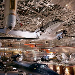 Boeing puts its passenger jets on display for centennial celebration