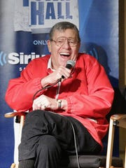 Comedian Jerry Lewis participates in the SiriusXM Town