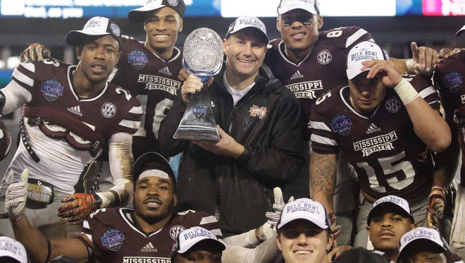 Mississippi State has handful of openings after its win at the Belk Bowl. Michael Bonner discusses them all at noon on Periscope.