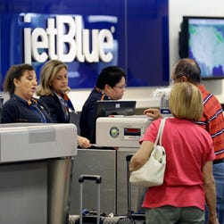 JetBlue CEO keeps no-overbooking policy