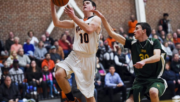 Kyle Krout, Hanover The senior guard facilitates the