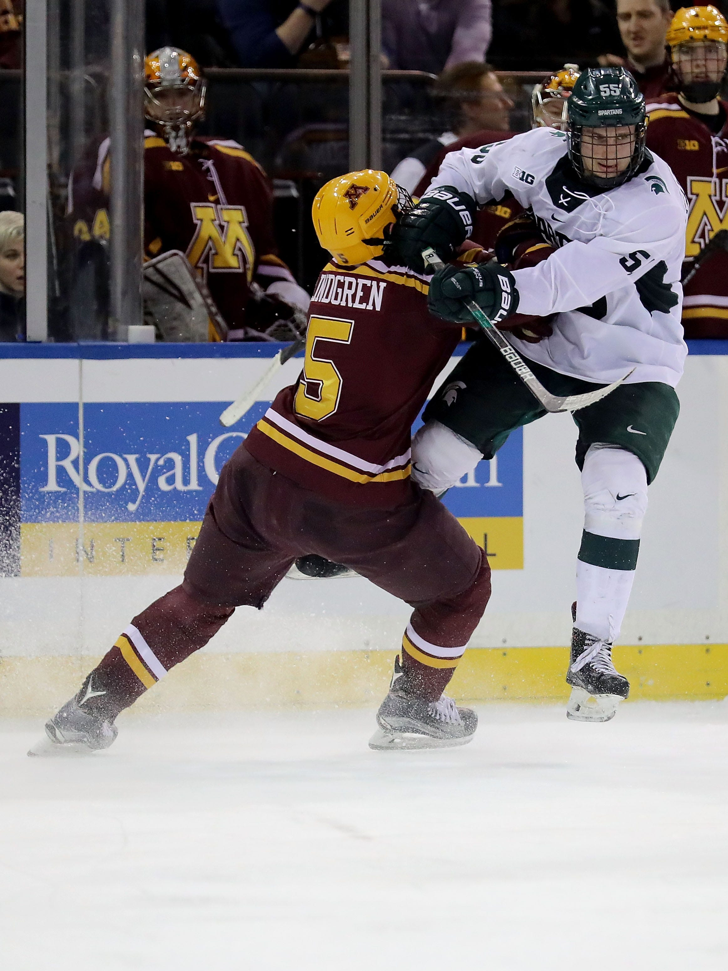 BIG10: MSU Hockey Looking To End Five-game Skid On The Road Against Struggling Minnesota