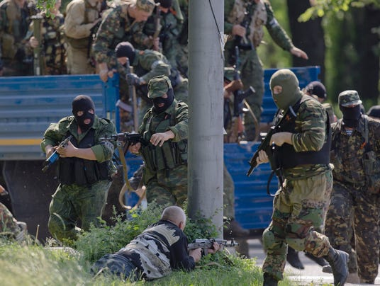 Ukraine pro-Russian forces
