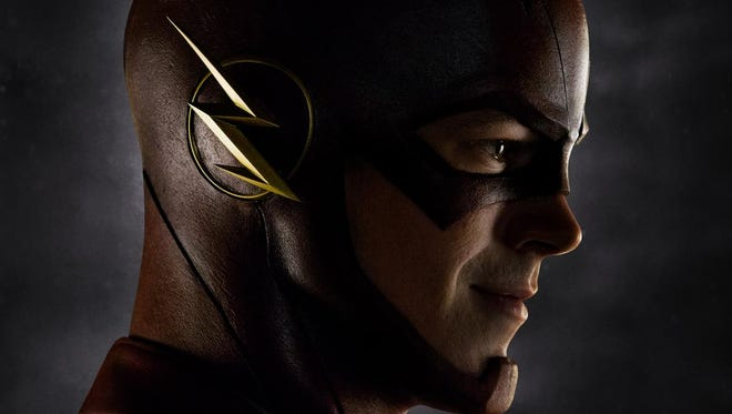 Grant Gustin as Barry Allen/The Flash.