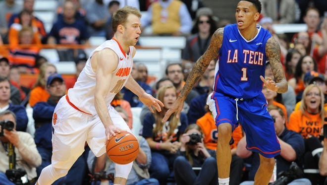 Louisiana Tech's Michale Kyser has earned an invite to the Toronto Raptors' summer league.