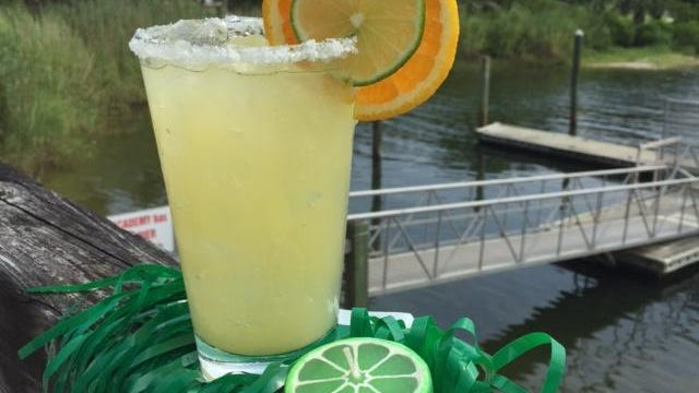 Frosty summer beverages and grass skirts help give your back-to-school luau the right vibe.