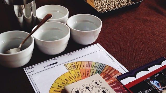 Intro to Roasting and Tasting Class (photo courtesy of Joe Bean Coffee Roasters)