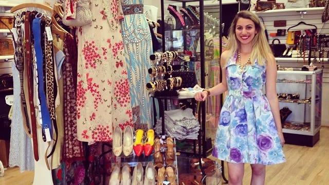 Malena's Vintage Boutique at 101 W. Gay St. in West Chester, Pennsylvania, has expanded into the space next door.