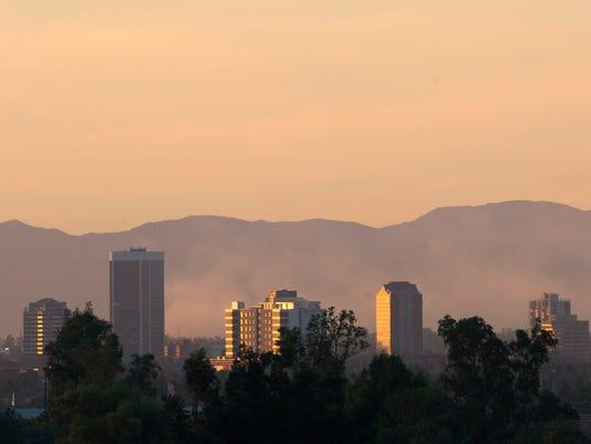 PNI Phoenix air pollution