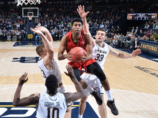 NCAA Basketball: Ball State at Notre Dame