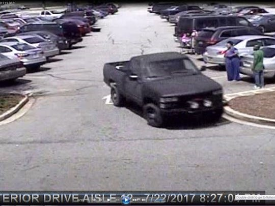 Anyone who knows the identity of the driver of this vehicle is asked to call 864-967-9536.