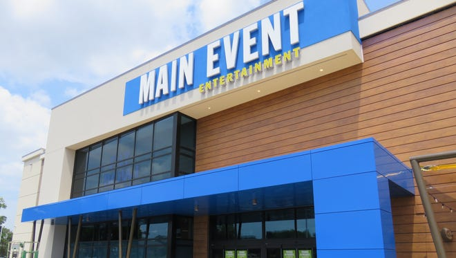 Main Event entertainment center in West Knoxville takes up a 50,000-square-foot building.