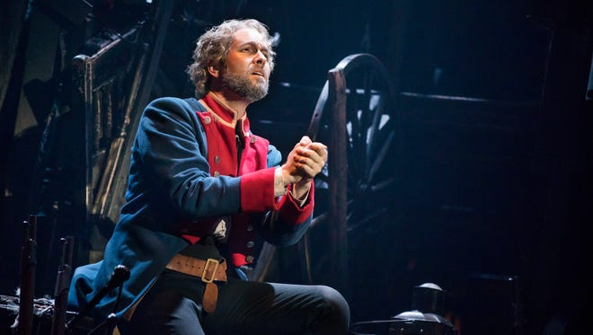 """Nick Cartell as Jean Valjean in the national tour of """"Les Miserables."""""""