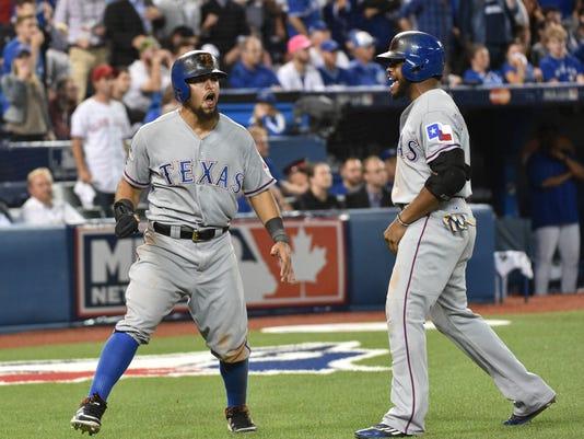MLB: ALDS-Texas Rangers at Toronto Blue Jays