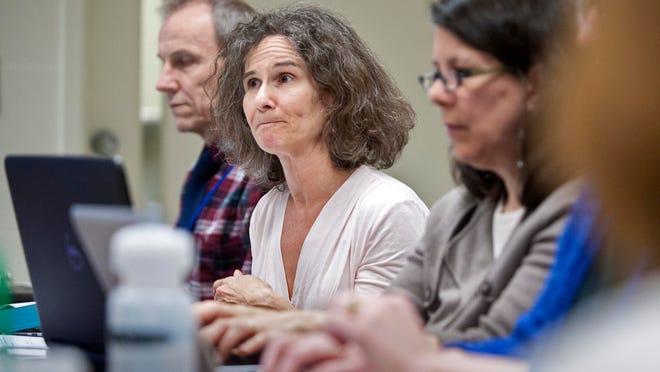 Miriam Stoll, chairwoman of the Burlington School Board Finance Committee.