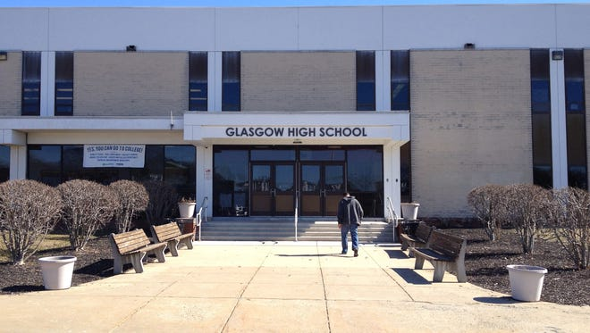 Glasgow High School was back to normal after a bathroom fire was extinguished.