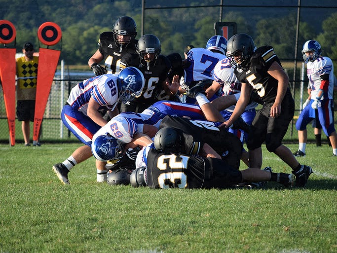 River View fell to Danville in the Black Bears' season opener on Friday.