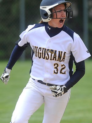 Augustana's Sarah Kennedy is the No. 1 hitter in Division II softball.