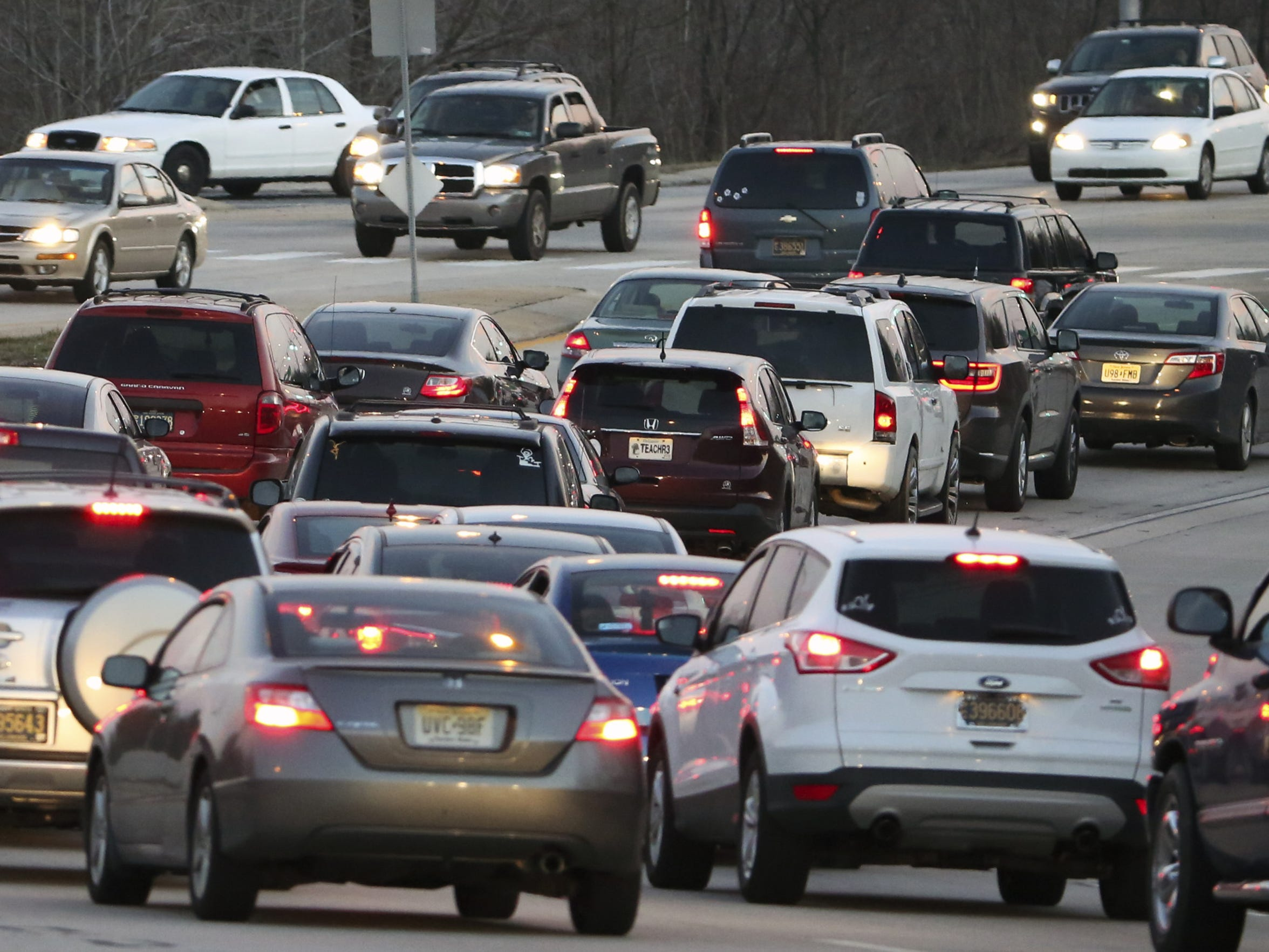 Holiday traffic is expected to begin Thursday.