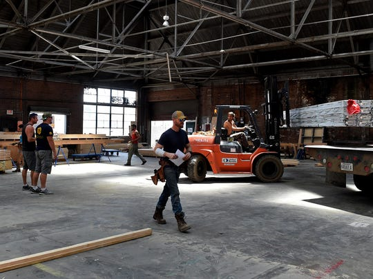 Burning Man has rented out a vacant warehouse east of downtown Reno for the construction of the Burning Man effigy.