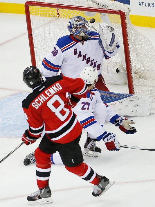 0ffeb3915 David Schlemko s power-play goal leads Devils over Rangers