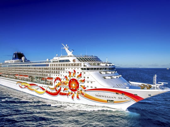 Norwegian Cruise Line cruises over an overnight in