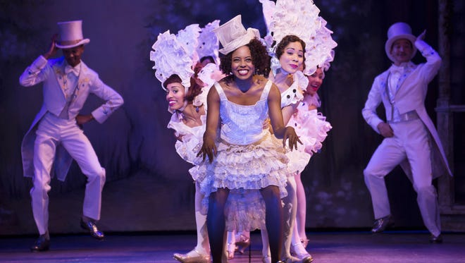 """Adrienne Warren and company perform """"I'm Just Wild About Harry."""""""