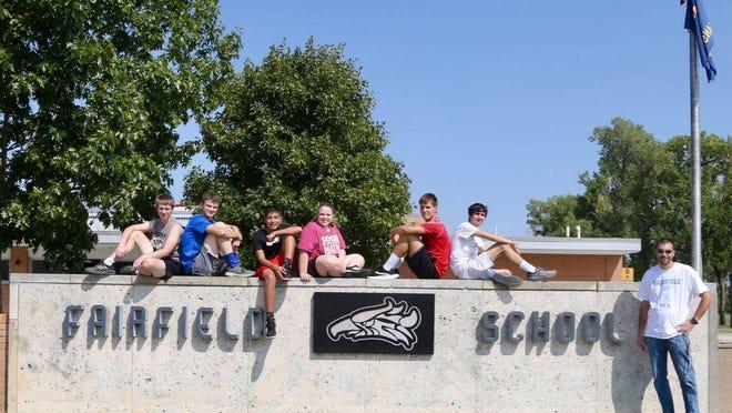 The Fairfield High School cross country team.