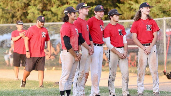 The seniors for the Newton Senior Knights were honored before Wednesday's games.