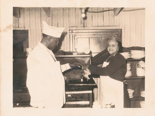 Lillian, owner of Lillian's Chicken Shack, is pictured here in an undated photo.