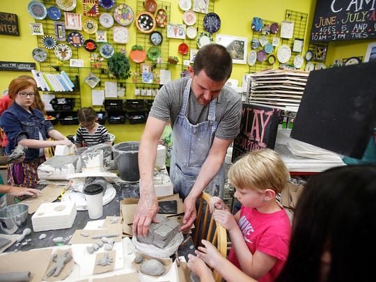 From mixed media to clay to mosaic glass, kids can