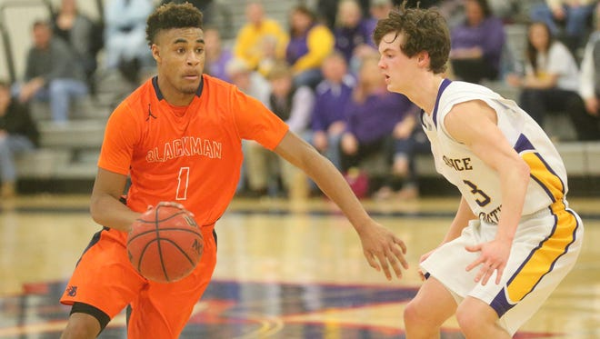 Blackman's Cedriontis Wilson leads the Blaze with 14.2 points a game.