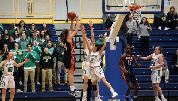 Irvington defeated Briarcliff, 74-64, in the Section