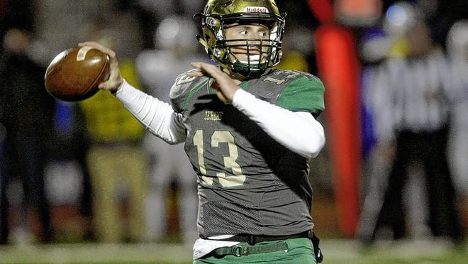 Senior quarterback Ryan Miller and Jerome will play host to Coffman in the season opener Friday, Aug. 28. Miller was named OCC-Cardinal Offensive Player of the Year and second-team all-district last season.