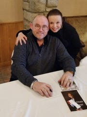 Maureen A. Kennedy and Ronan Tynan, member, Irish Tenors, 2016.