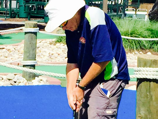 Dr. Brad Lebo of Shippensburg, Pa., practices at the